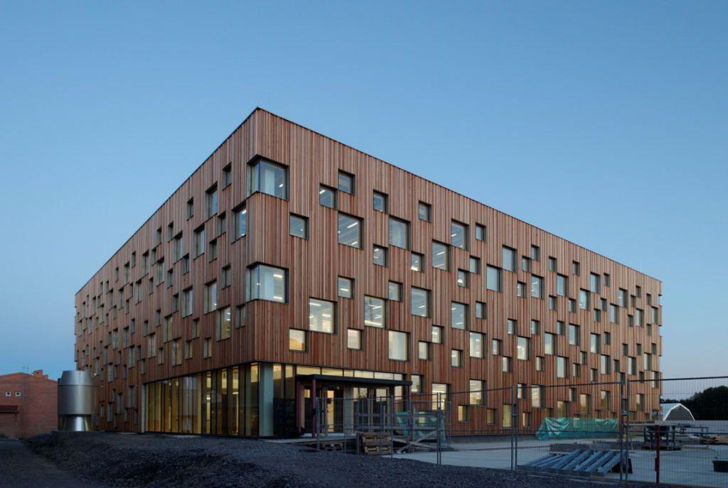 umeå school of architecturehenning larsen architects + white
