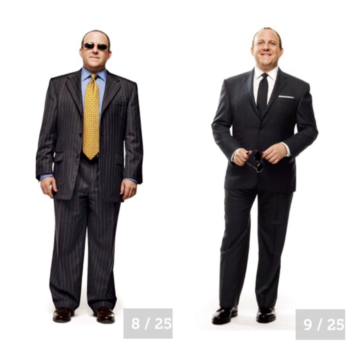 THE RIGHT SUIT FIT