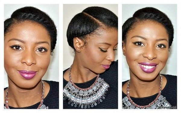 5 Ways To Do Milk Maid Halo Crown Goddess Braids On Natural Hair
