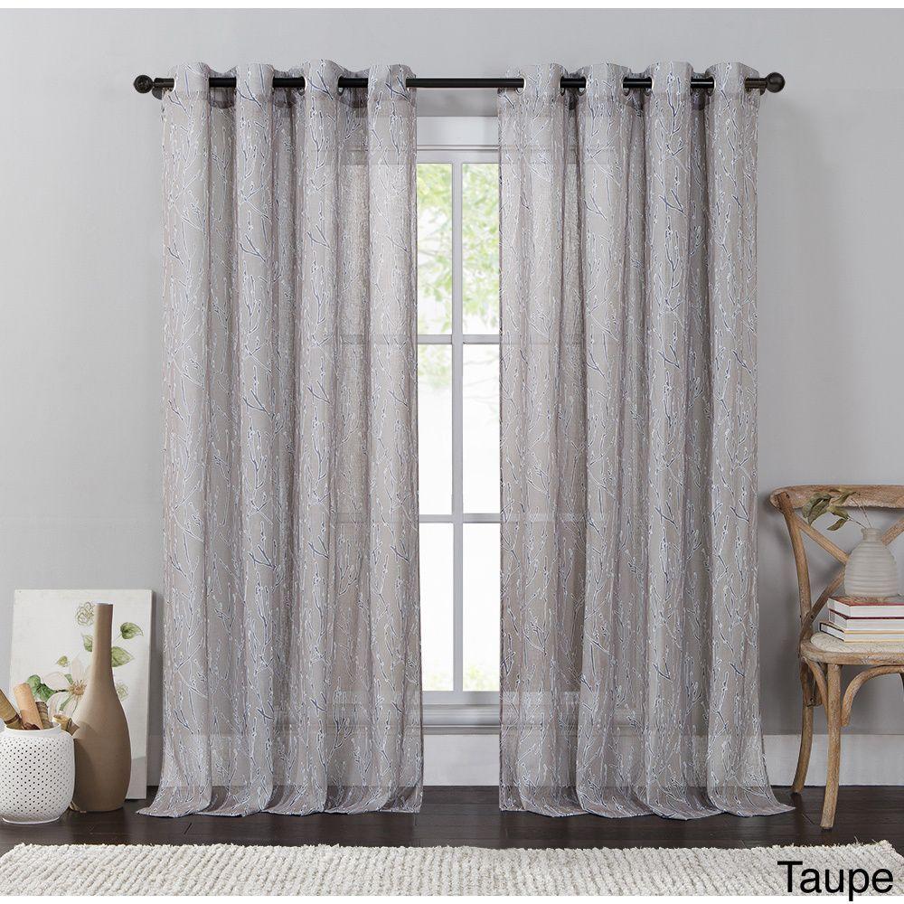 Vcny Adriana Grommet Curtain Panel