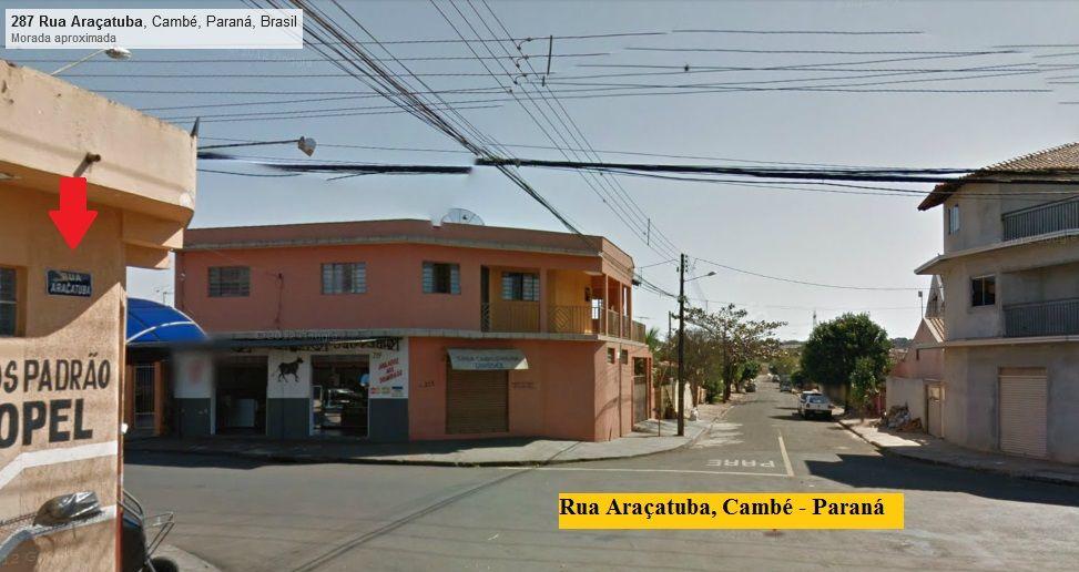 Rua Araçatuba, Cambé - Paraná