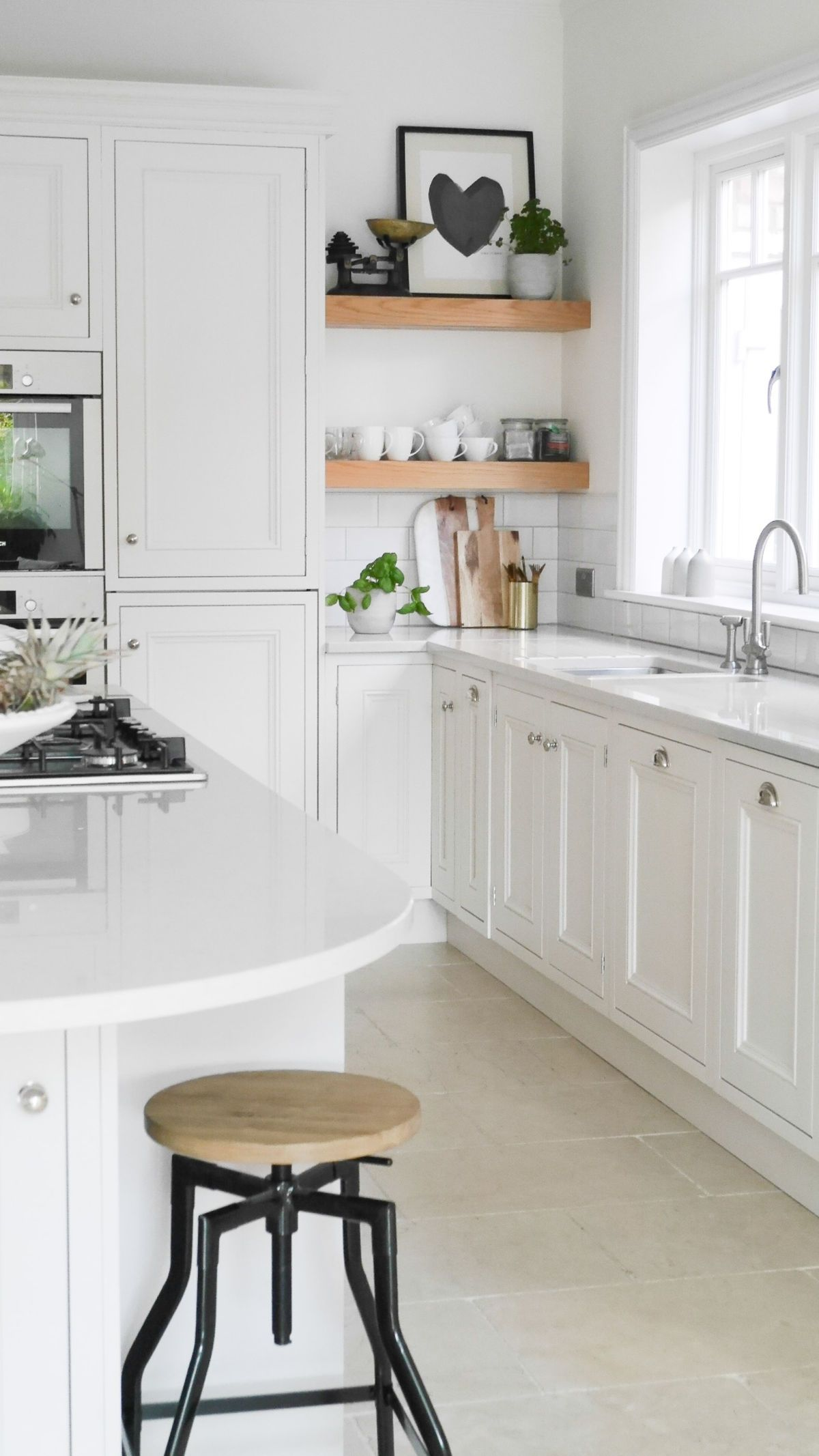 The Green Eyed Girl Bright White Kitchen Design And Scandi Inspired