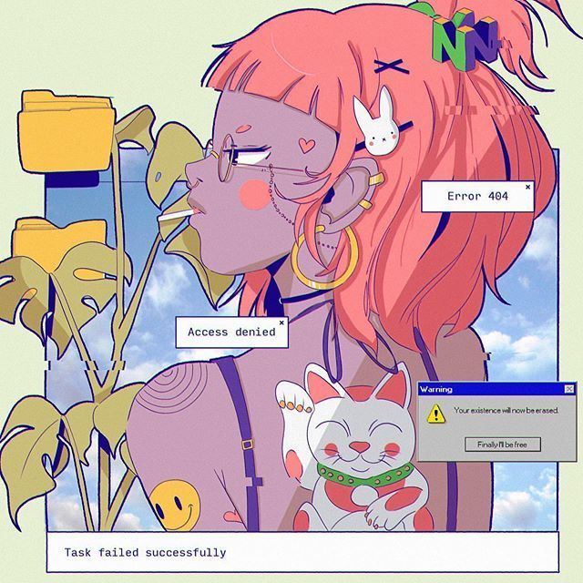 vaporwave tumblr #vaporwave access denied autor mechibaz always credit when you reposting miilkplus miilkplus miilkplus #grunge #aesthetics #anime #aesthetic #vaporwave #cyberpunk #seapunk #retroart #pinkaesthetic #blueaesthetic #grungeaesthetic #90s #retro #vaporwaveaesthetic #vaporwaves #vaporwave #chillwave #retrowave #synthwave #tumblr #lofi #newretro #newretrowave #trippy #vhs #animeaesthetic #animeart #japaneseart #japanesevendingmachine #rain