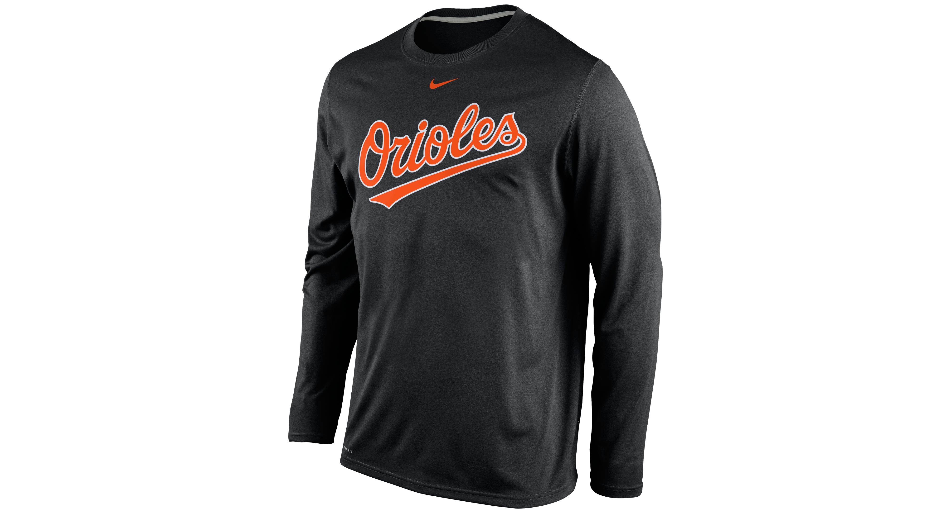 best authentic 0d07e ba2e1 Nike Men's Long-Sleeve Baltimore Orioles Legend T-Shirt ...