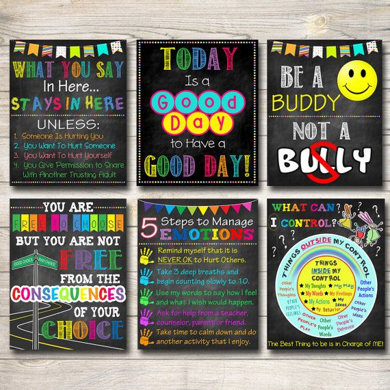 Printable Counselor Door Sign And Coordinating Counselor Office