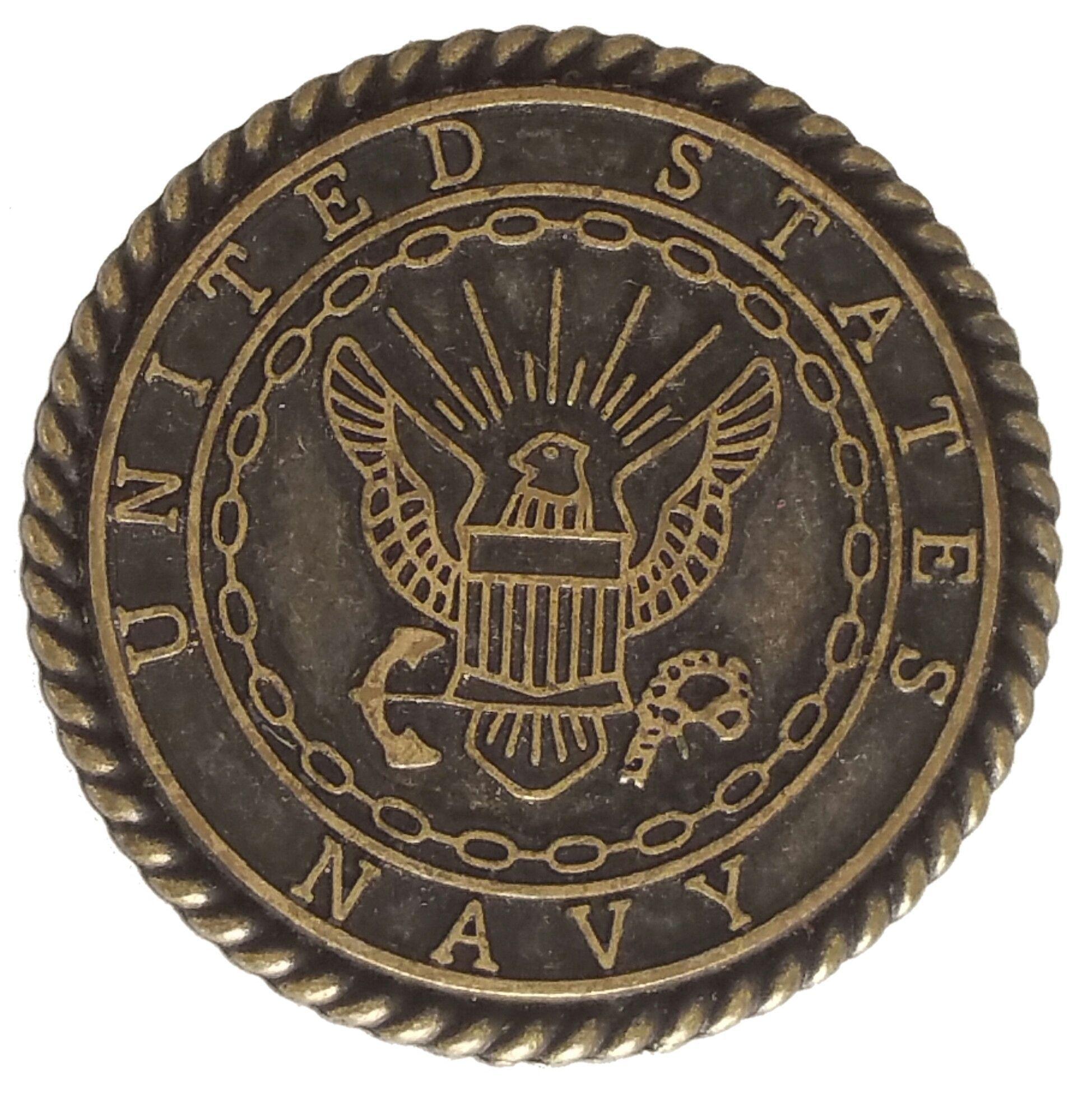 5440 Cc 1 Quot Us Navy Seal Emblem Antique Brass Decorative