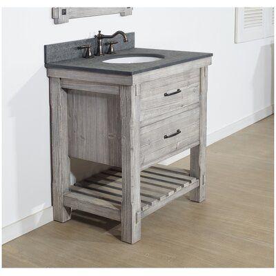 Foundry Select Boleynwood Solid Fir 30 Single Bathroom Vanity Set Single Bathroom Vanity Beautiful Bathroom Vanity Shabby Chic Bathroom
