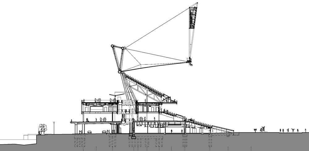 London Olympic Stadium building section | Civil ...