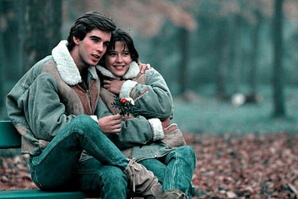 Sophie Marceau et Pierre Cosso 1982