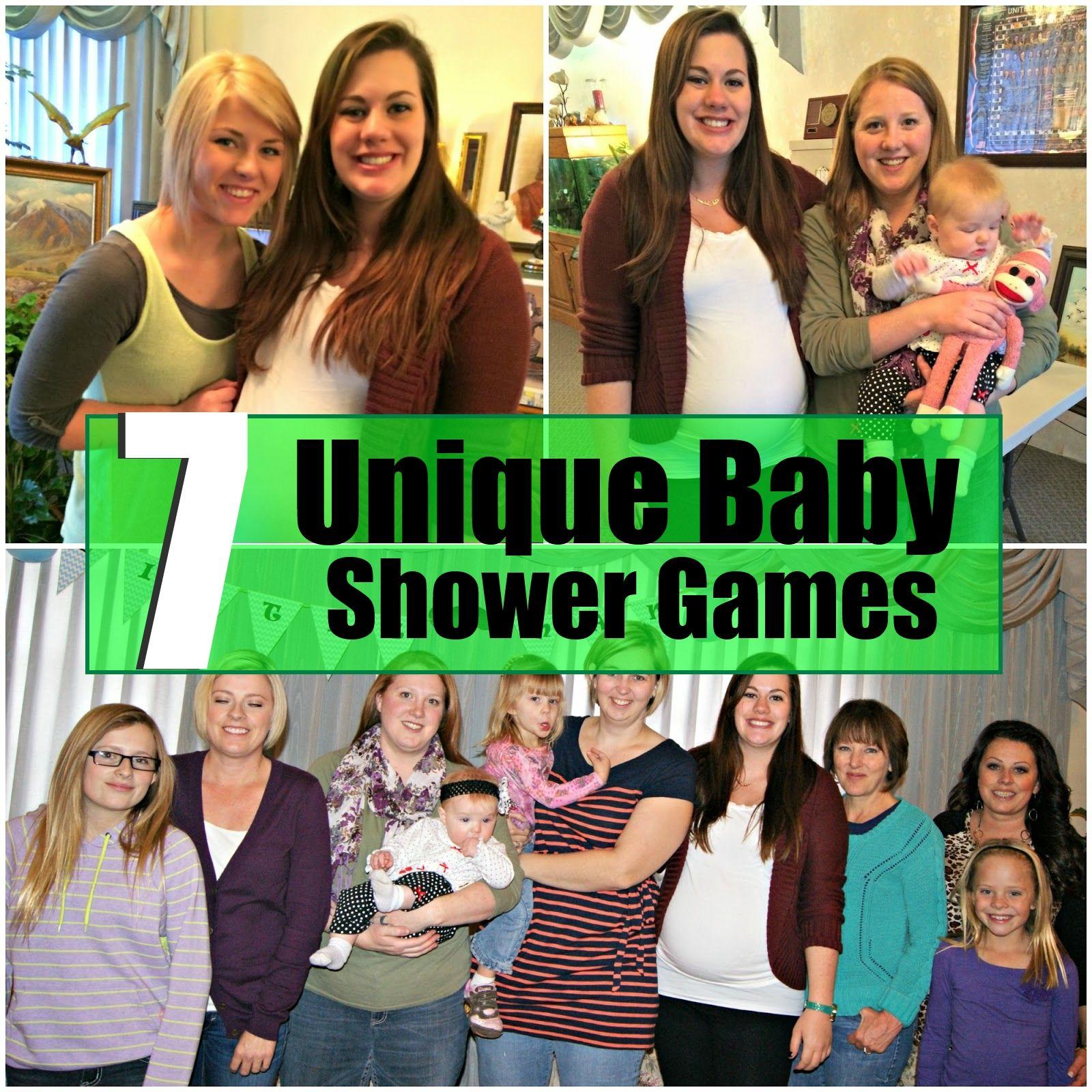 unique baby shower games celebrations pinterest unique baby