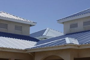 Busting Myths About Metal Roofing Piedmont Roofing Roofing Blue Siding Metal Roof