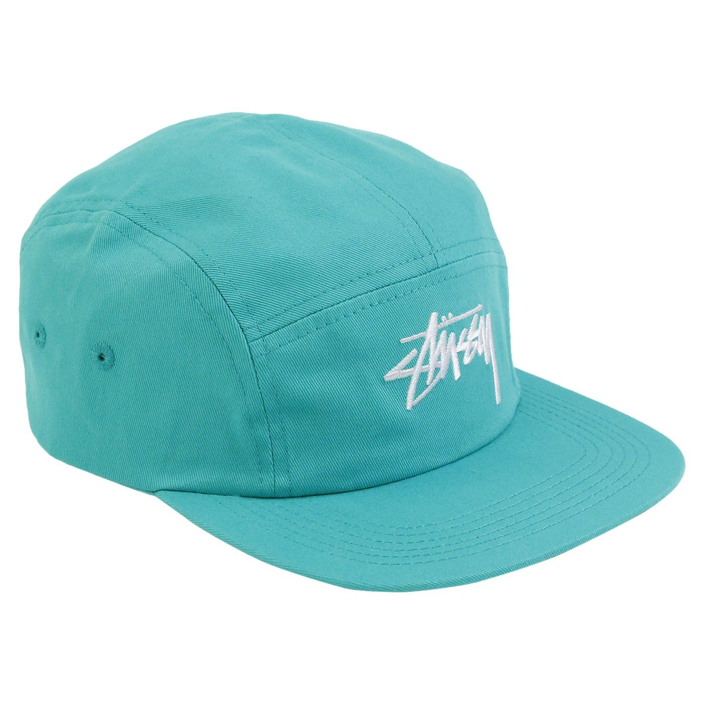 dce4b5b7a49 Stock 5 Panel Cap in Teal by Stussy