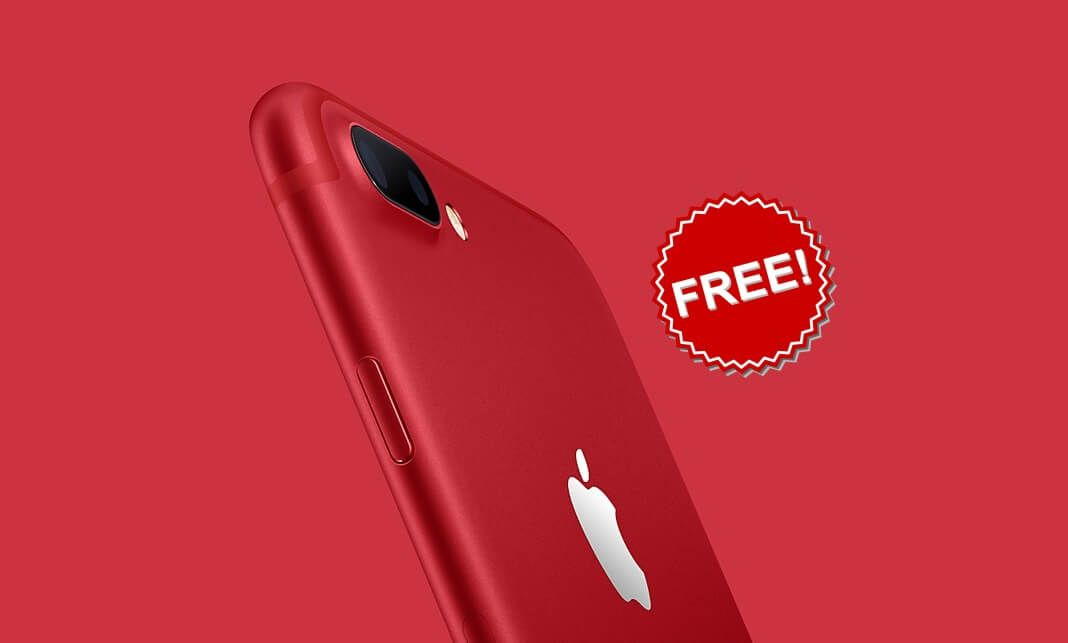 Giveaway iphone 7 red 128gb