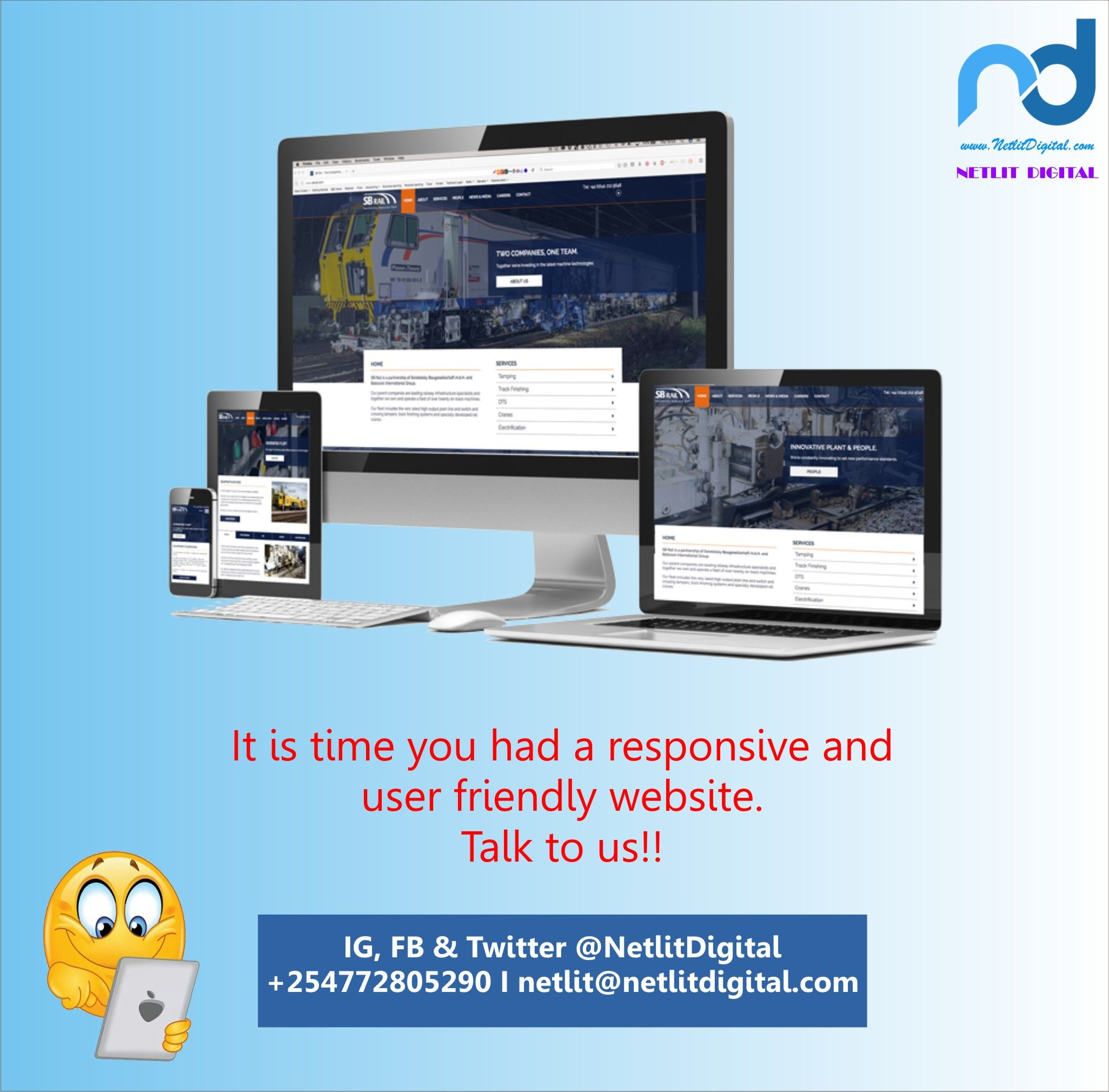 We Build Websites That Are Easy For Users To Navigate We Are In Nairobi Kenya With Images Affordable Web Design Online Branding Web Development Design