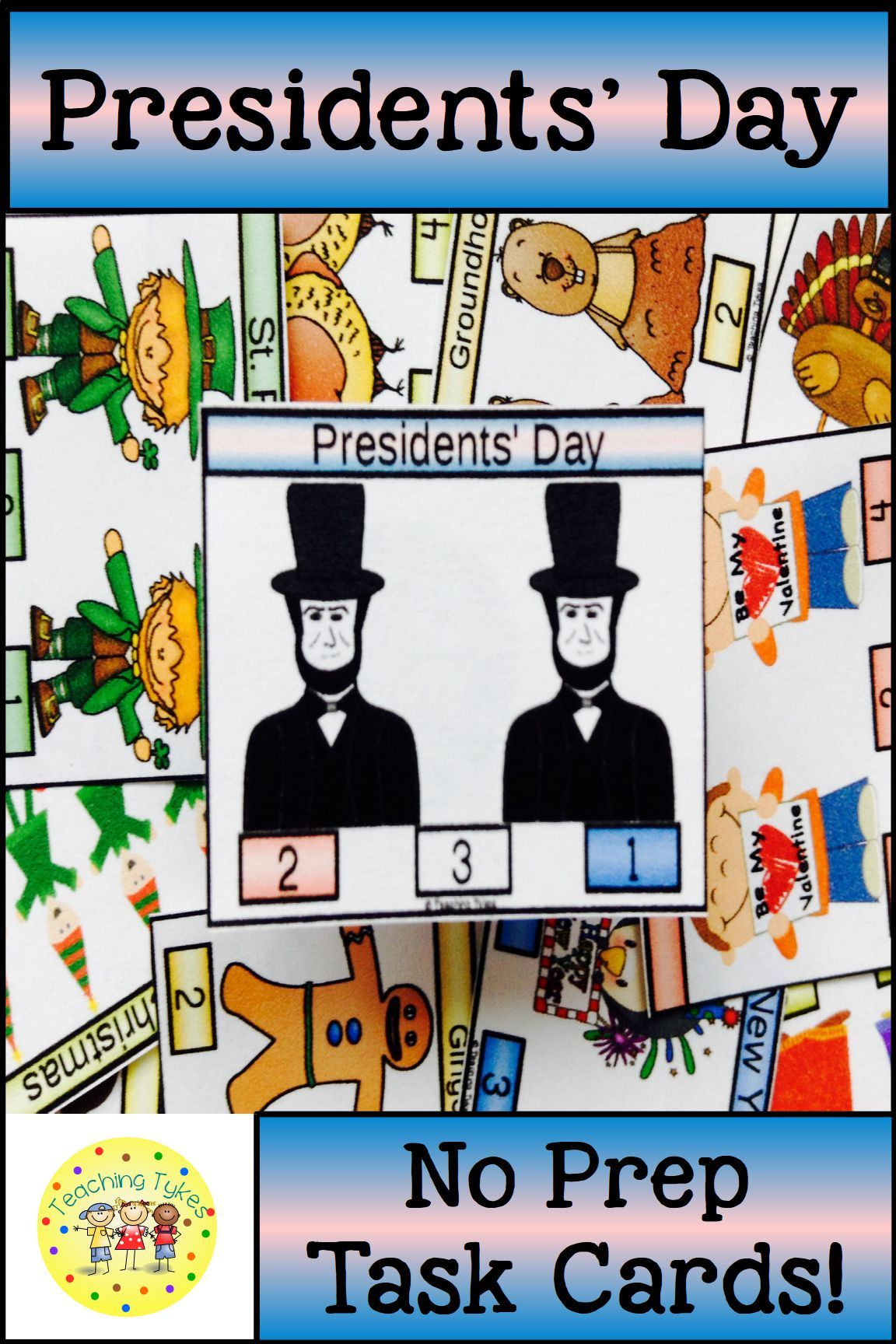 Presidents Day Activity To Practice Counting