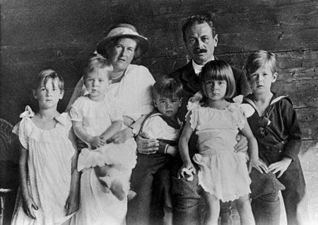 Pictures Real Von Trapp Family | Trapp Family with children