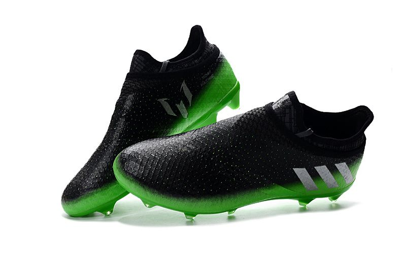 new product d6596 0c9f2 Space Dust Adidas Messi 16+ PureAgility FG - Dark Grey  Solar Green  Silver  Metallic
