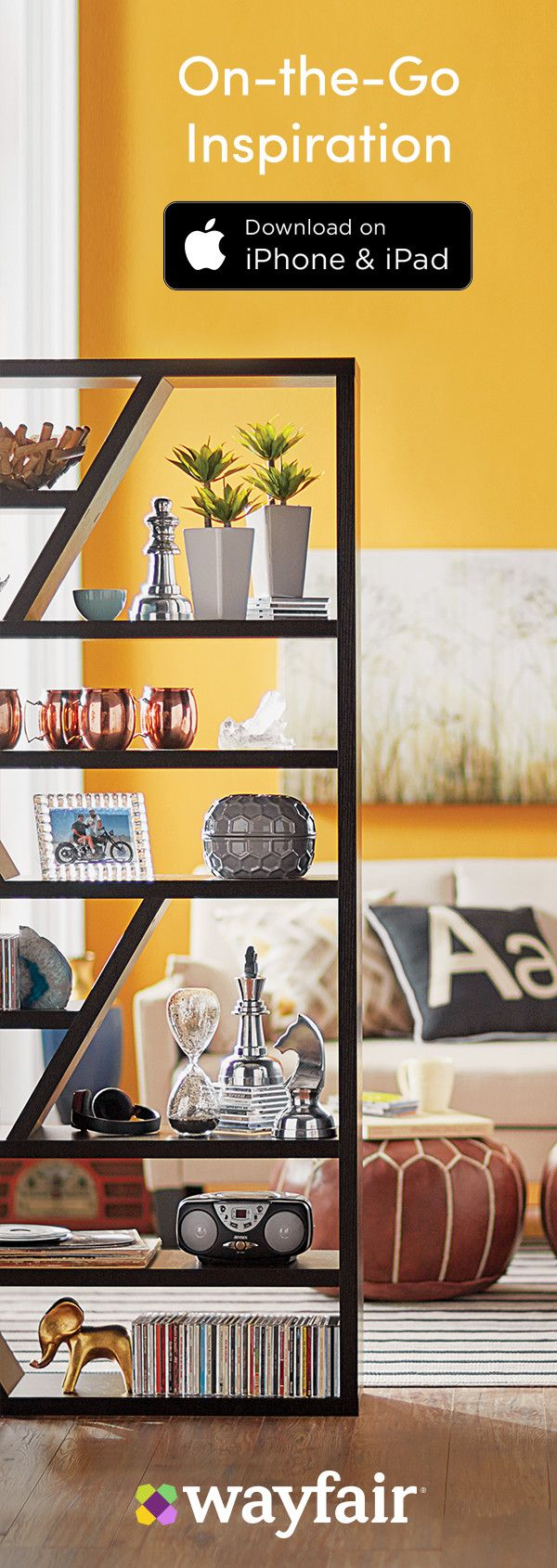 Download the Wayfair App to Access Exclusive Deals Daily