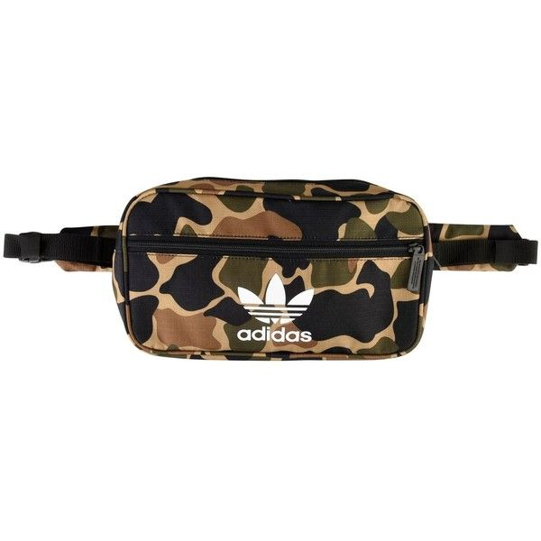 be82edc4bf4c ADIDAS ORIGINALS Camouflage Bum Bag ( 32) ❤ liked on Polyvore featuring bags