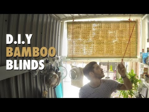 Diy Roll Up Blinds How To Youtube Diy Blinds