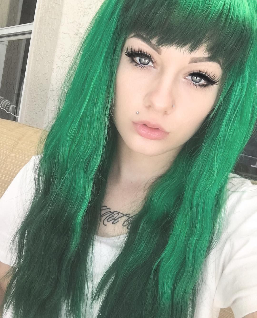 Pin by jess on shannon taylor pinterest green hair hair