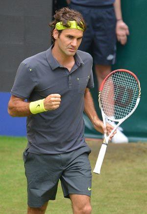 Roger Federer Eases Into Seventh Halle Final Roger Federer Rogers Tennis