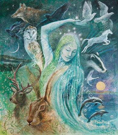 Creatures of the Yule Goddess