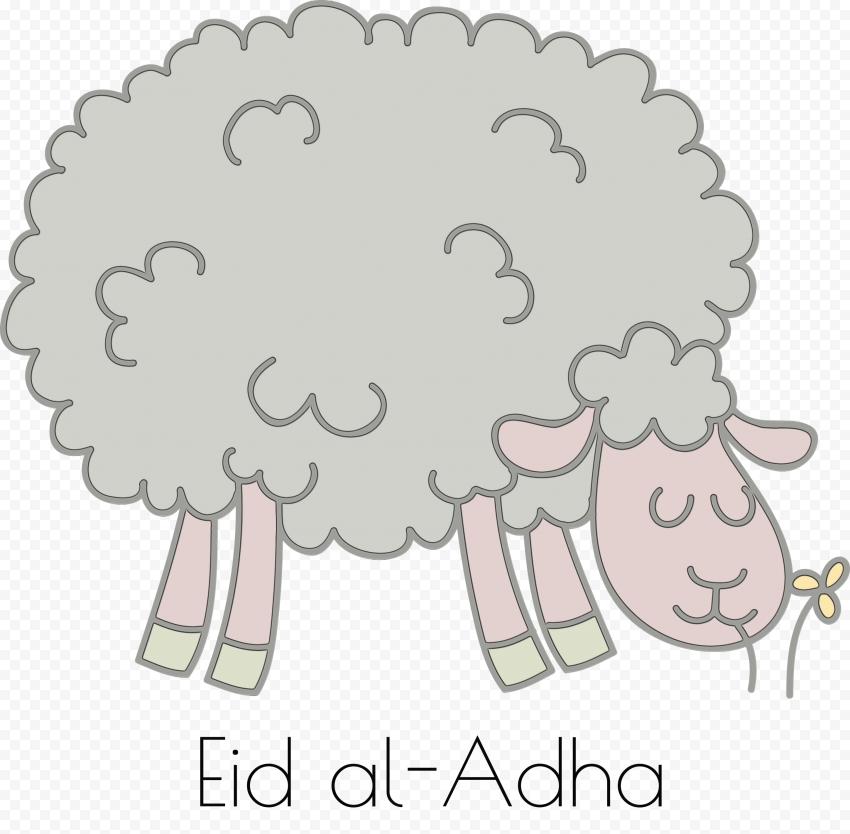 Eid Al Adha Cartoon Sheep خروف عيد الأضحى Eid Al Adha Sheep Cartoon
