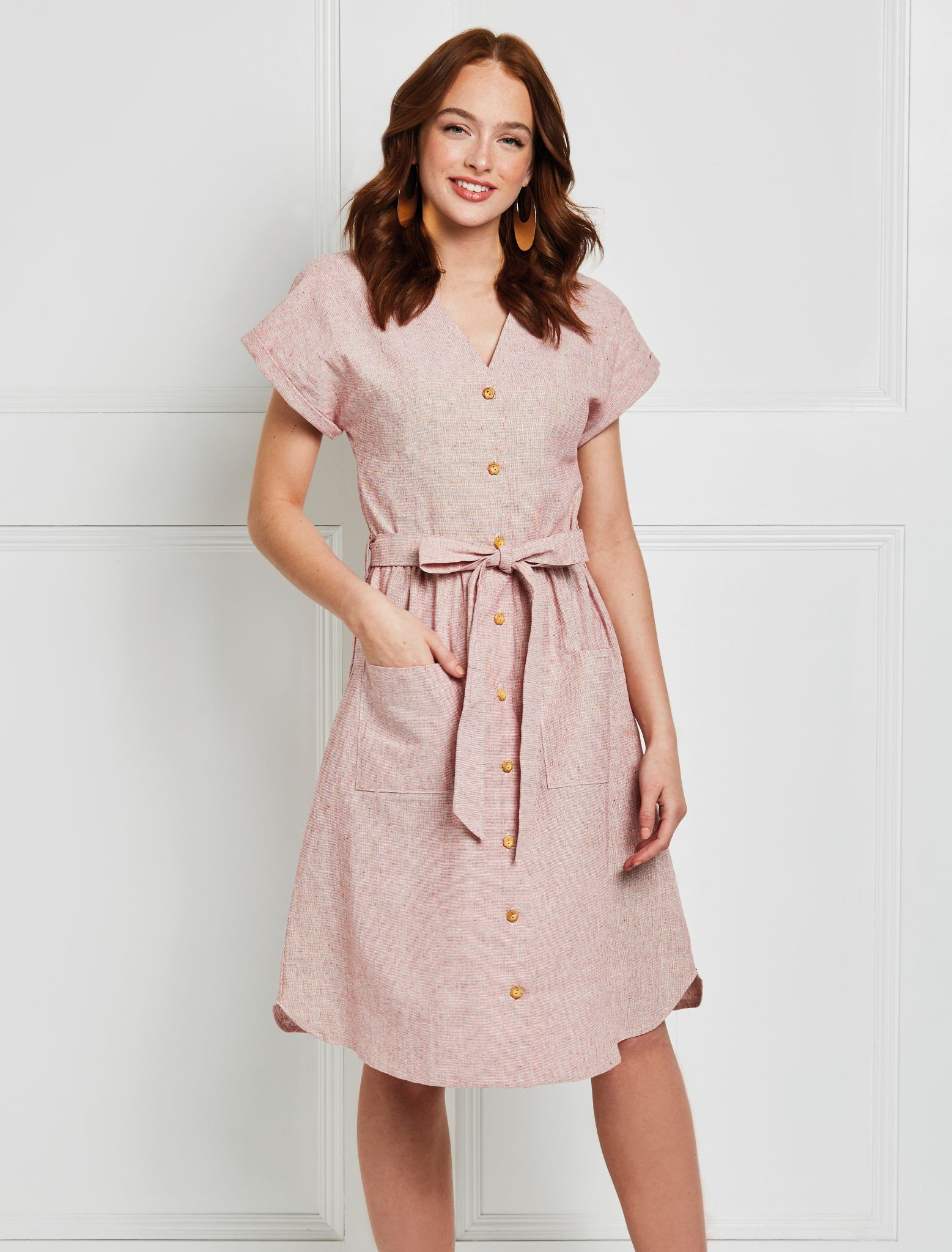 18++ Button front dress ideas