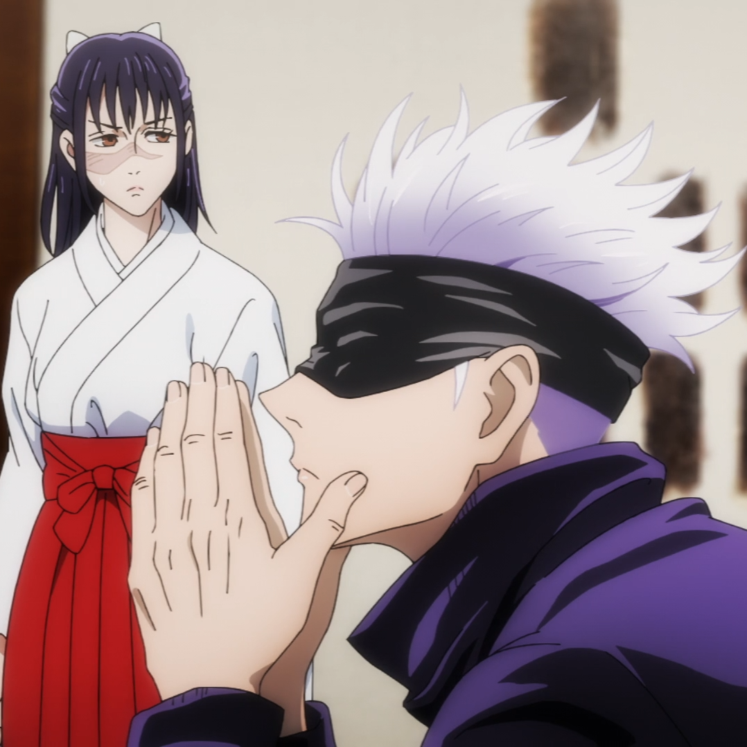Utahime And Gojo In 2021 Jujutsu Anime Art Girl Fan Art