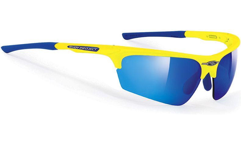 9c47cb11c770 Rudy Project Noyz Sunglasses - Yellow Fluoro   Multilaser Blue - RxSport  Cycling Sunglasses