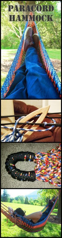 Paracord Hammock Paracord Survival And Crochet