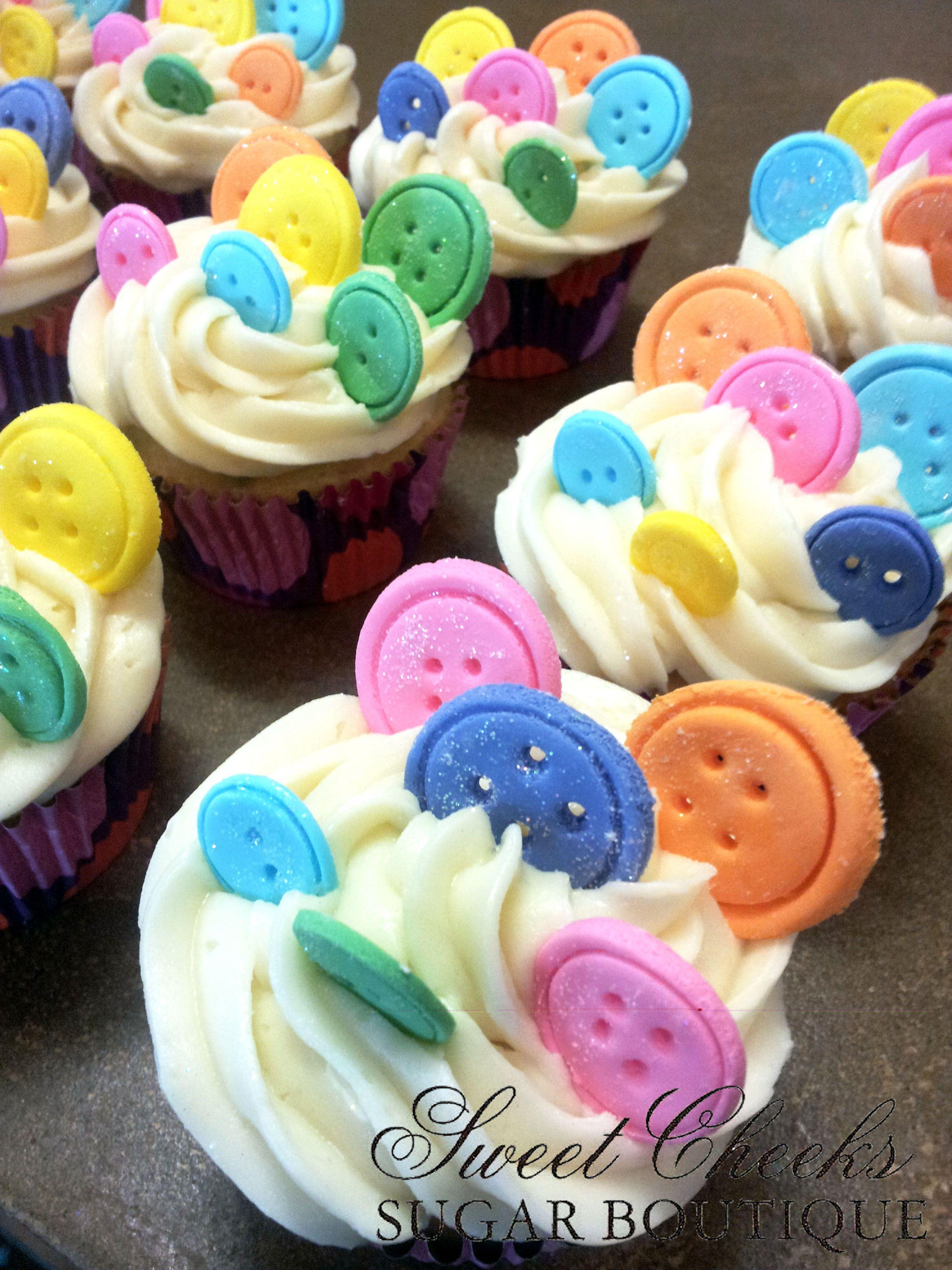 Lalaloopsy Themed Fondant Button Cupcakes Happy Birthday Yvette