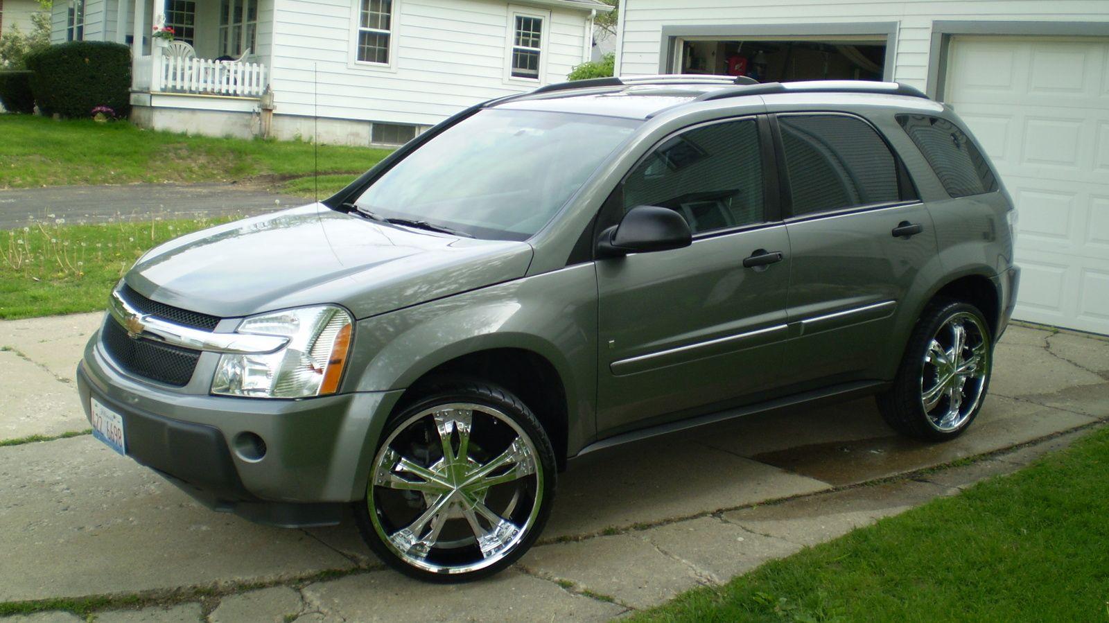 Equinox 2007 chevrolet equinox specs : Chevrolet Equinox 2006 Rims | Chevrolet Equinox LS AWD (2006) | I ...