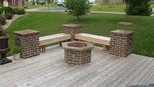 back yard with fire pit photos - Bing Images