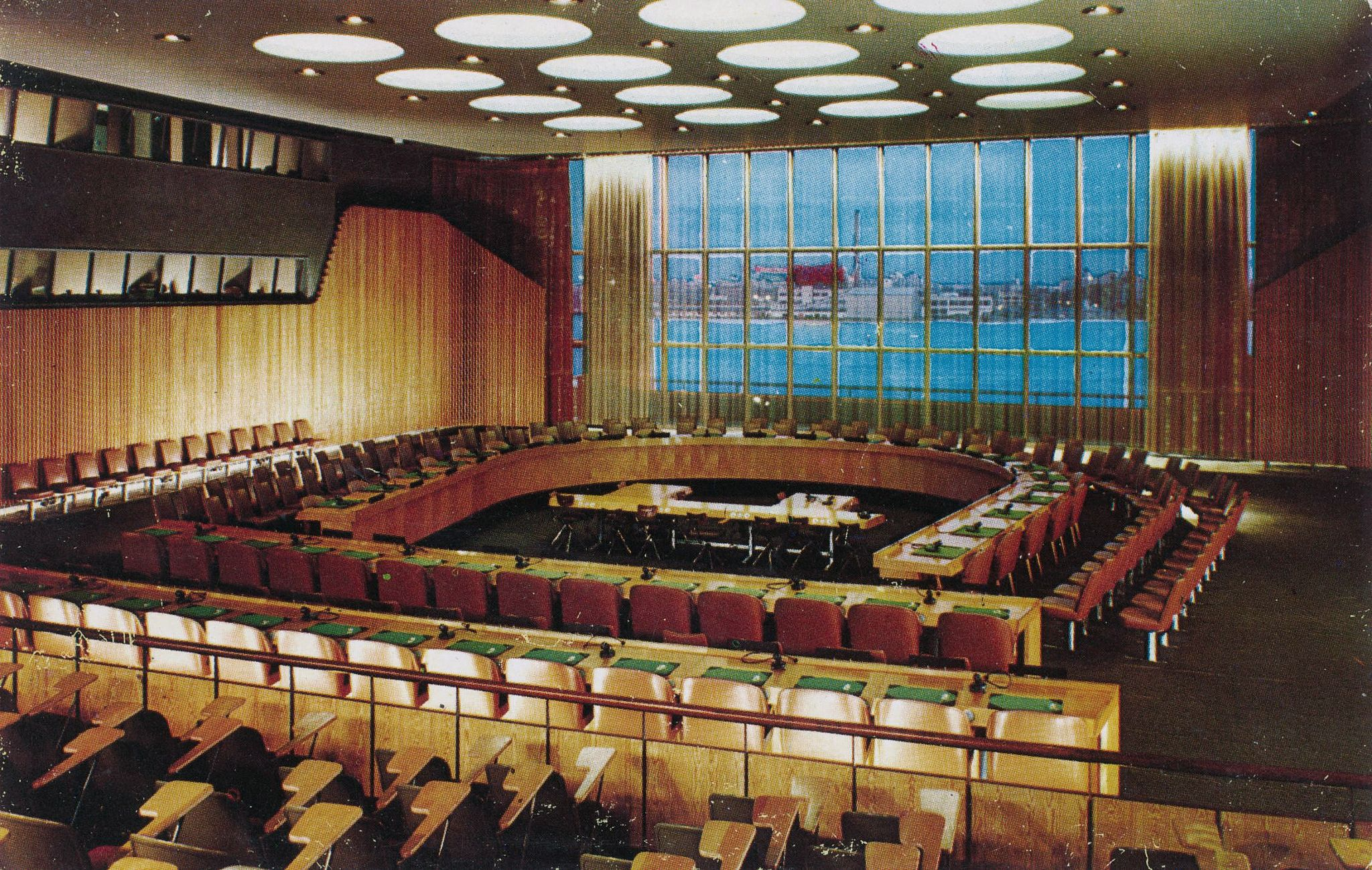 Finn Juhl United Nations Trusteeship Council Chamber Projects to Inspire Pinterest