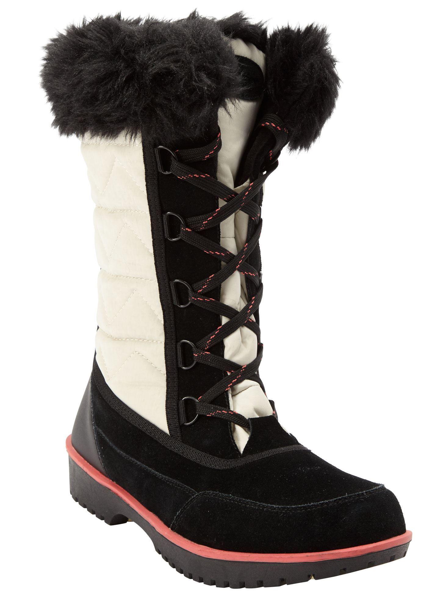 The Eileen Waterproof Wide Calf Boot by