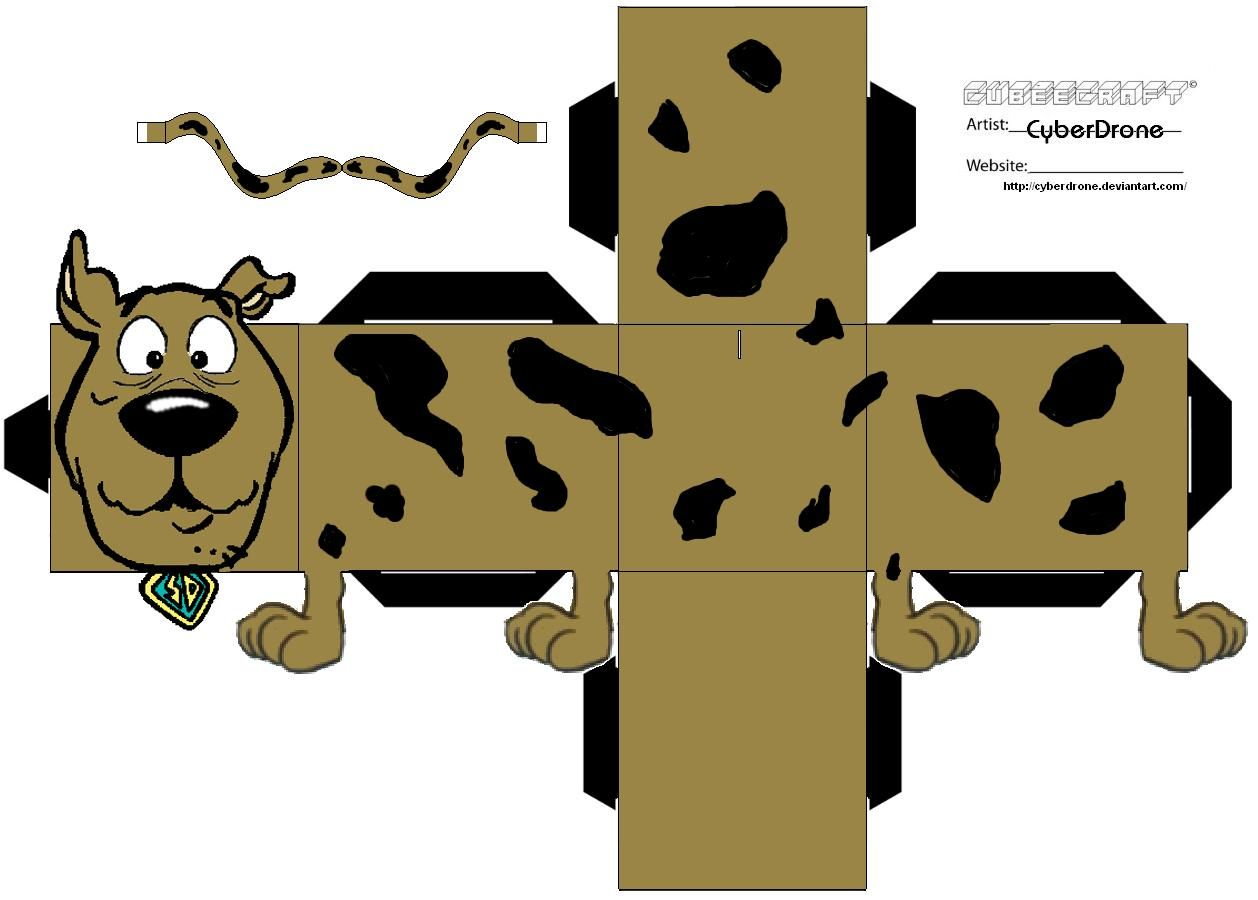 Image Detail For Scooby Doo Printable Paper Toy For Free