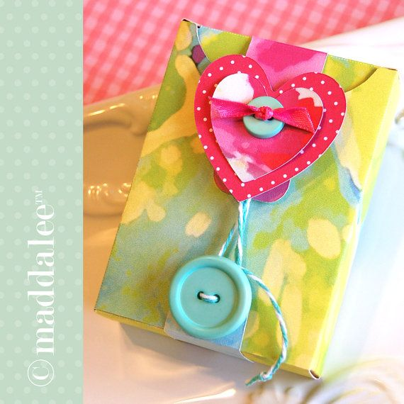 Mini Journal in a Gift Box, DIY Printables and Tutorial