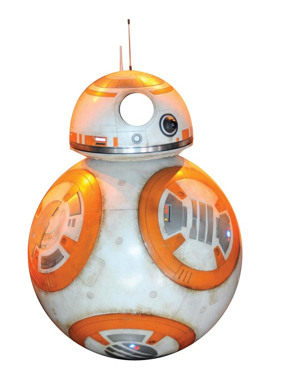 37ac79c90c55 Star Wars Force Awakens BB-8 - Pin the tail on the Donkey game in ...