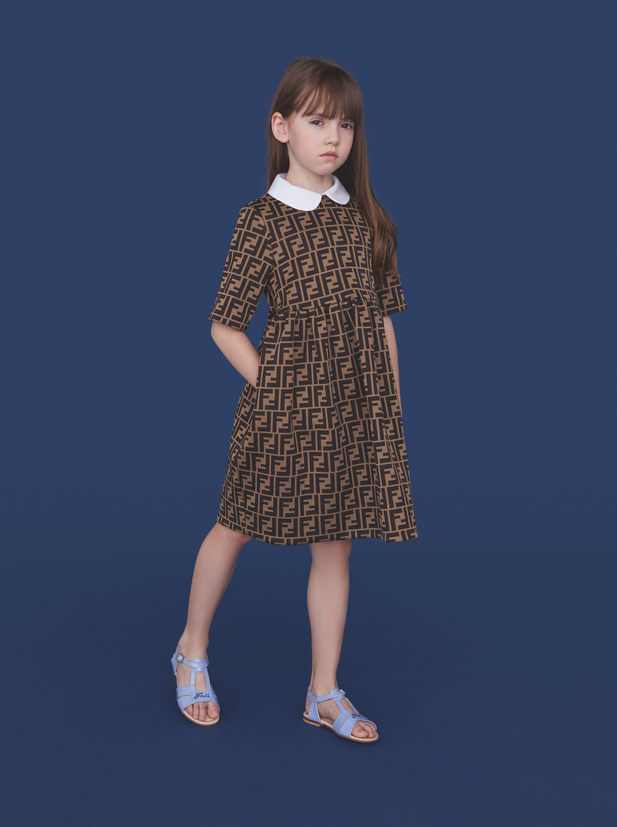 595ec1e668 Fendi Kids Spring/Summer 2019 Collection | Children's Dope Clothes ...