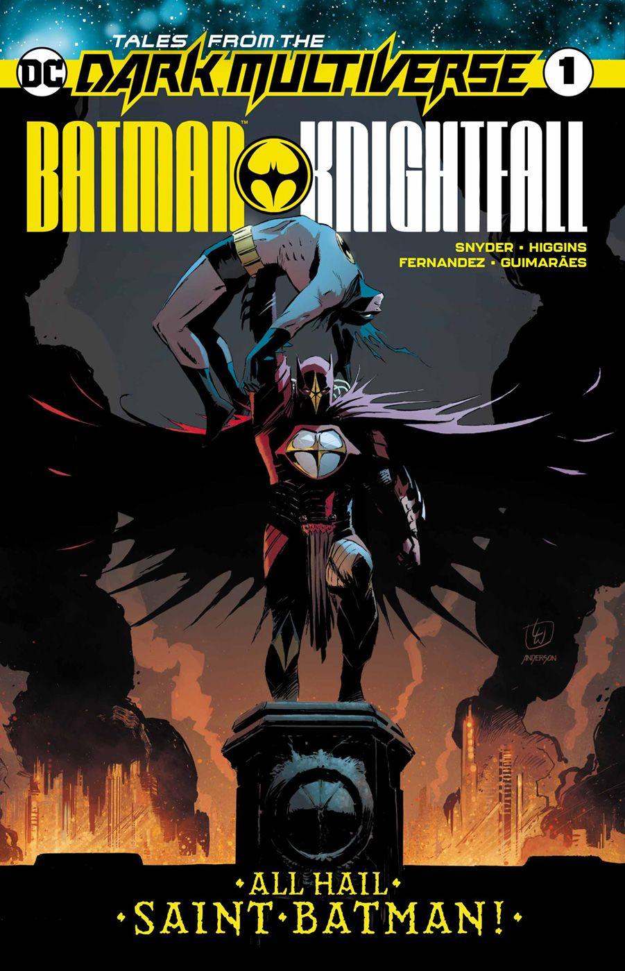 ALL HAIL SAINT BATMAN! Thirty years after Bruce Wayne