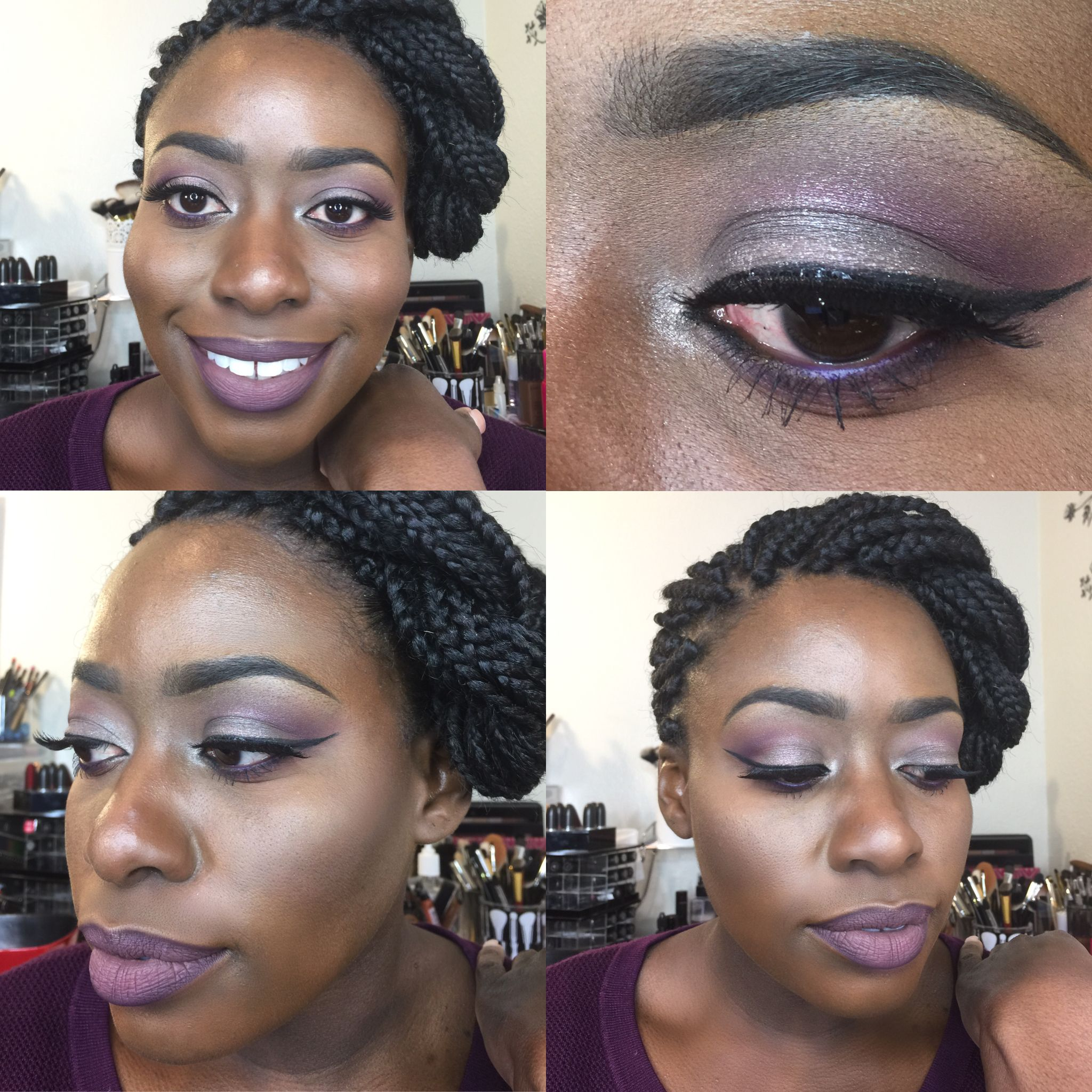 Pin by Diandra Harrell on MAKEUP LOOKS Types of makeup