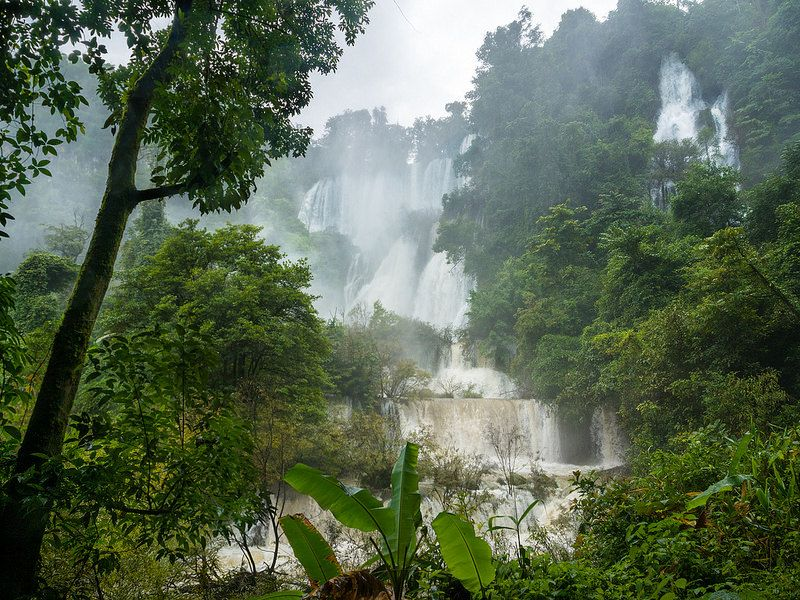 Image result for Thi Lo Su Waterfall – Thailand