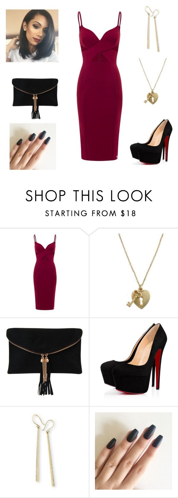 """Sexy Night Out 😉"" by annemarie-robinson on Polyvore featuring Aloura London, Zirconmania, Rare London and Ippolita"