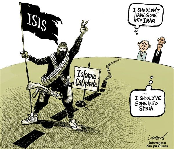 Image result for ISIS IRAQ CARTOON