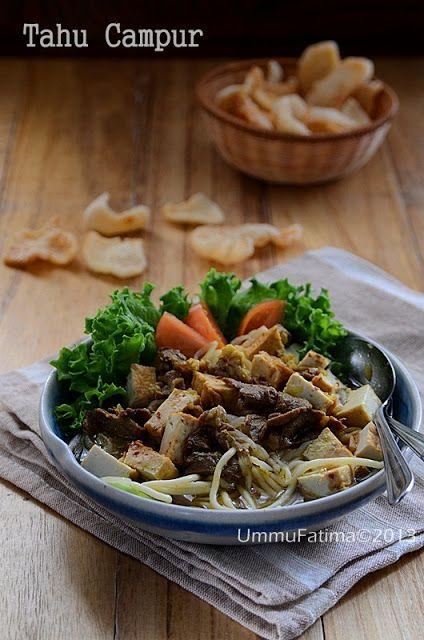 Simply Cooking And Baking Tahu Campur Lamongan Resep Masakan Indonesia Makan Malam Memasak