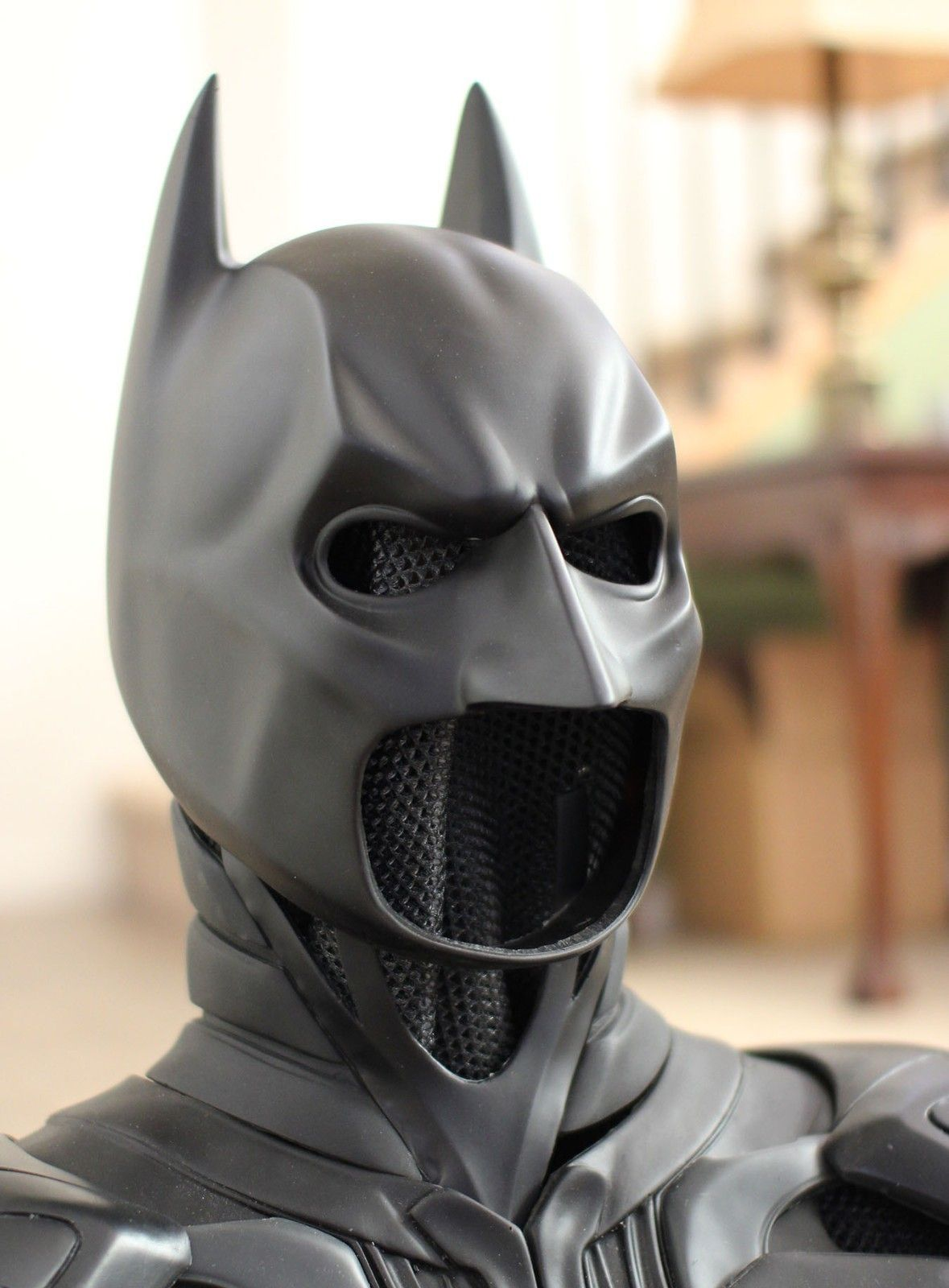 US  Justice League Bat Cosplay Tactical Mask The Dark Knight BAT Adult Mask