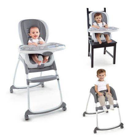 Ingenuity Smartclean Trio 3 In 1 High Chair Slate Image 15 Of 15