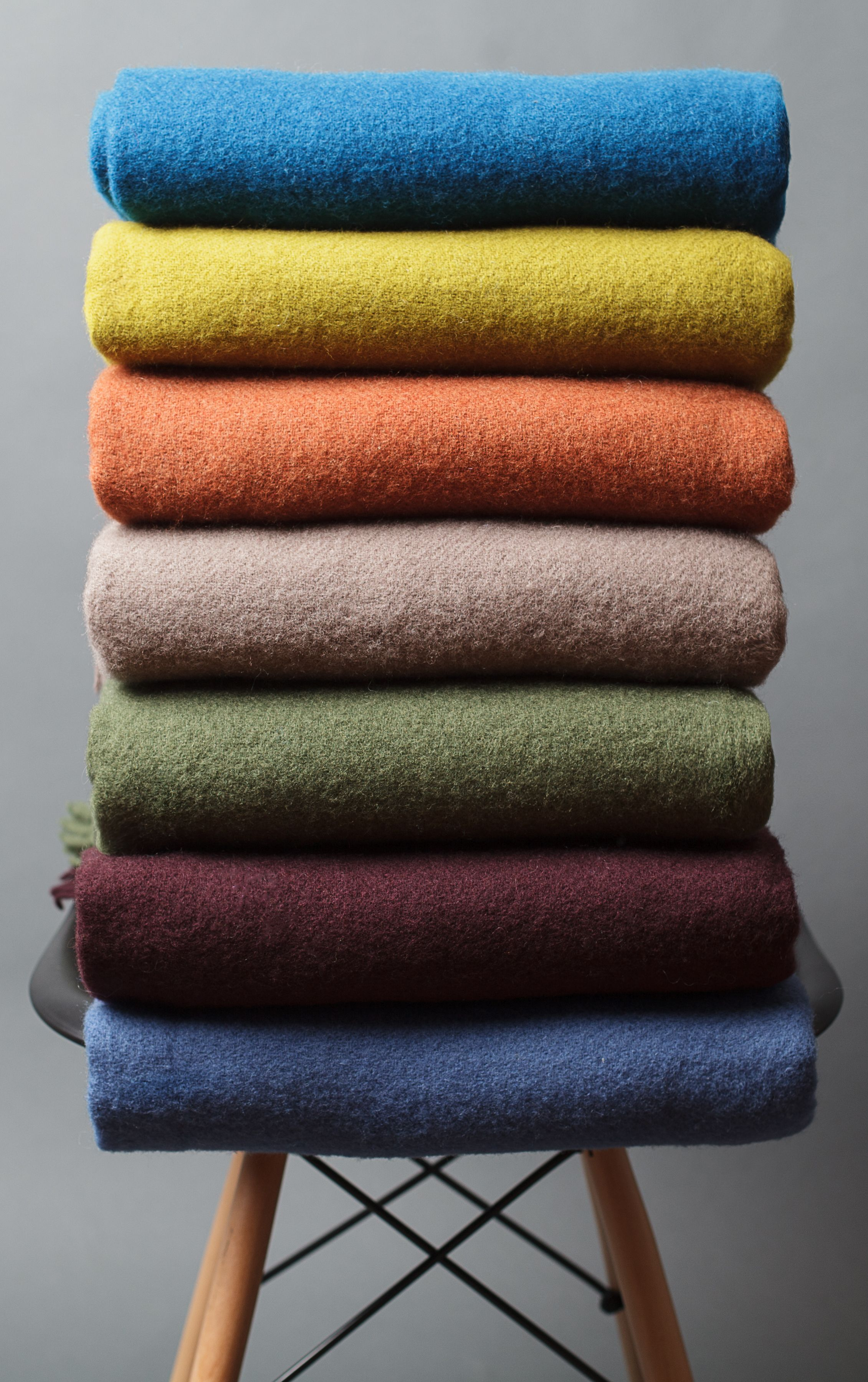 Bettdecken Aus Naturmaterialien Technicoloured Blankets Wool